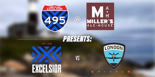 Long Island Excelsior Presents: NYXL vs London Spitfire