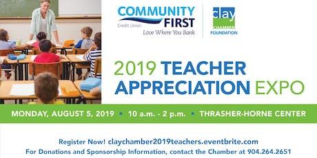 2019 Teacher Appreciation Expo tickets