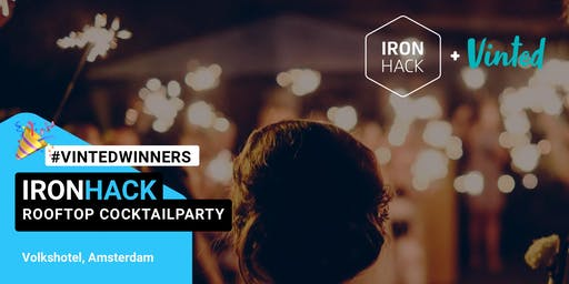 IRONHACKxVINTED: Vintage Funky Rooftop Cocktailparty