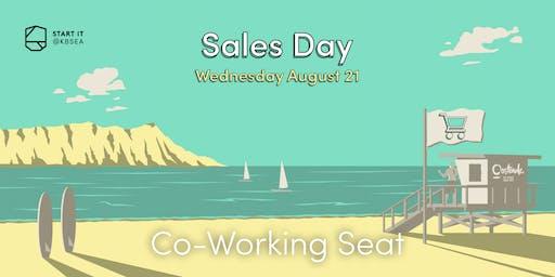 21/08 Co-Working Seat #SALESday #startit@KBSEA