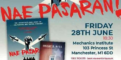 Nae Pasaran and Chile's 9/11 - film screenings and discussion (UCU/ Unison) tickets