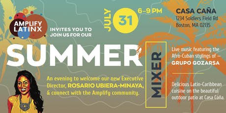 Amplify Latinx Summer Mixer tickets