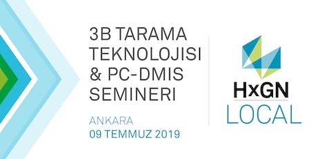 HxGN LOCAL 3B Tarama Teknolojisi & PC-DMIS Semineri tickets