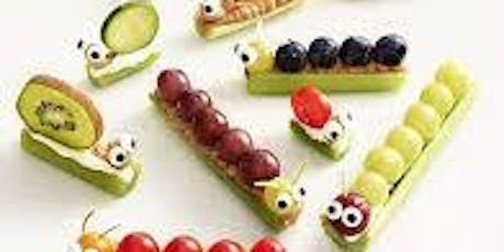 Mini Chef Creations: Buggy Snacks tickets