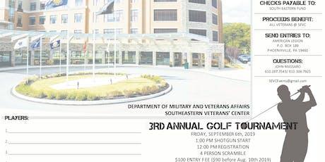 Southeast Veteran's Center Golf Tournament tickets
