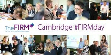 The FIRM's Cambridge Conference 2019 tickets