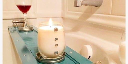Sip+Make+Take® Shutter Bathtray