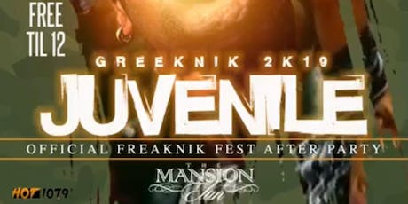 JUVENILE LIVE + Freaknik AFTER PARTY @ MANSION ELAN (Guest List Available!) tickets