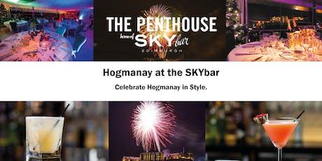 SKYbar Hogmanay tickets