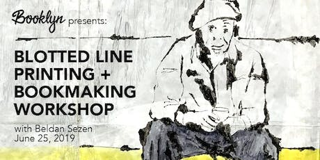 Blotted Line Printing + Bookmaking Workshop tickets