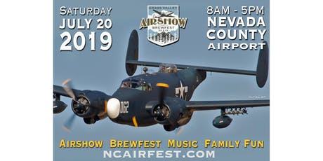Grass Valley AirShow and BrewFest tickets