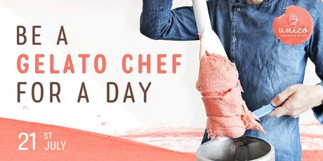 Be a Gelato Chef for a Day (21st July) tickets