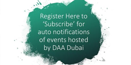 Registration Page for Event Auto-Notifications tickets