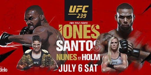 UFC 239 Live Screening at Macau Sporting Club Cork City