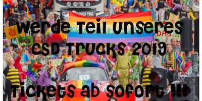CSD Truck Herzblut Friseure Nürnberg
