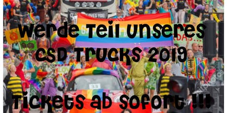 CSD Truck Herzblut Friseure Nürnberg Tickets