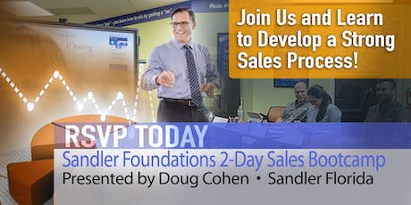 Sandler Foundations 2-Day Sales Bootcamp: Grow Sales in Q3 and Q4! tickets