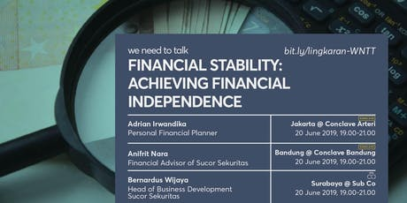 Financial Stability: Achieving Financial Independence tickets