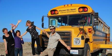 Mit dem Schulbus in die Wildnis | Reisebericht für die ganze Familie Tickets