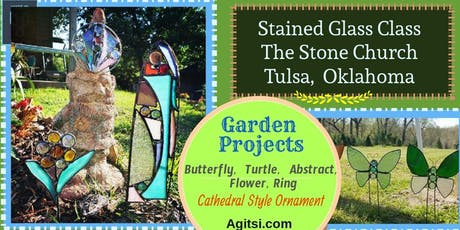 Stained Glass Garden Ornament Class, Beginner Friendly Lead Project  tickets