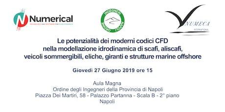 Workshop su strumenti CFD avanzati in ambito navale biglietti