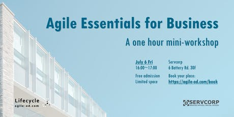 AGILE ESSENTIALS for BUSINESS (1 hour mini-workshop) tickets