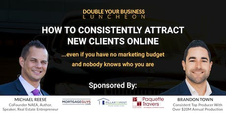 Double Your Real Estate Business Luncheon - Kitchener-Waterloo tickets