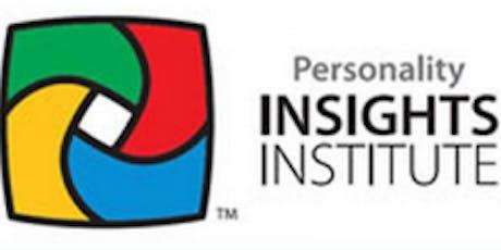Études sur le comportement humain DISC...Niveau 1 - Programme d'accréditation tickets