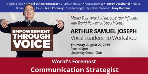 Vocal Leadership: Empowerment Through Voice with Arthur Joseph