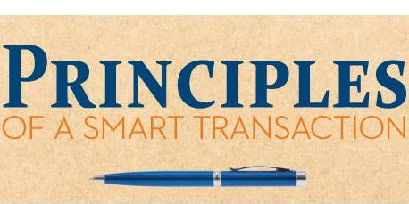 Principles of a Smart Transaction @ Independence Title - Stone Oak