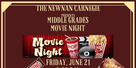 Middle Grades Movie Night tickets