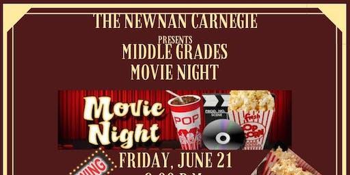 Middle Grades Movie Night