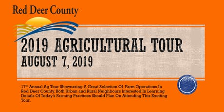 2019 Ag Tour - Red Deer County tickets