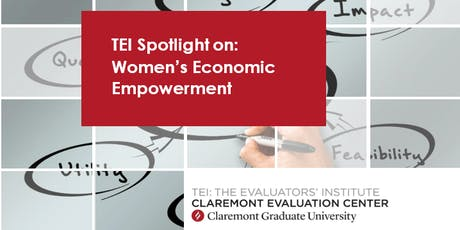 TEI Spotlight on: Women's Economic Empowerment tickets