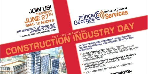 Prince George's County Construction Industry Day
