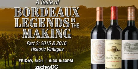 A Taste of Legends in the Making Pt. 2, Delving into The Latest Historic Vintages  tickets