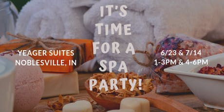 Spa Party tickets