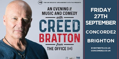 Creed Bratton From The Office (US Version) (Concorde 2, Brighton) tickets