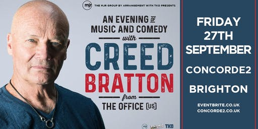 Creed Bratton From The Office (US Version) (Concorde 2, Brighton)