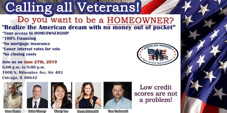 Do you want to be a HOMEOWNER? FREE Veteran Event! tickets
