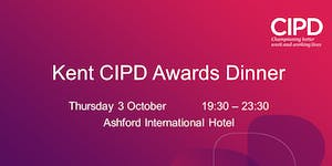 Kent CIPD Awards Dinner 2019