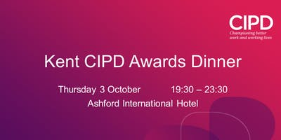 Kent CIPD Awards Dinner 2019