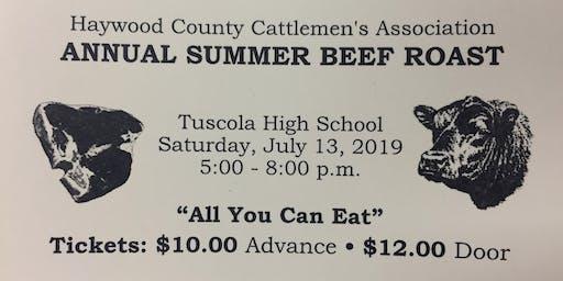 Haywood  Cattlemen's Beef Roast 2019