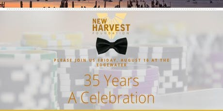 New Harvest Foundation 35th Gala tickets