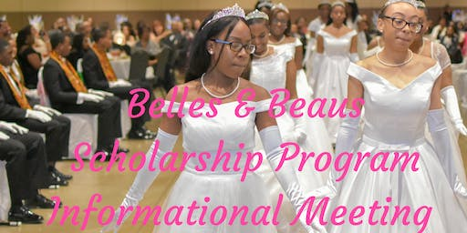 Belles & Beaus Scholarship Program Info Meeting