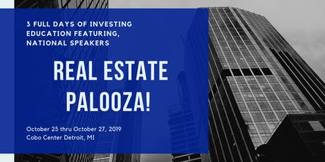 3 Day Real Estate Palooza! MREI tickets