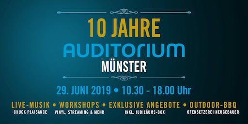 10 Jahre AUDITORIUM Münster