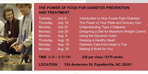 Nutrition and Cooking Classes