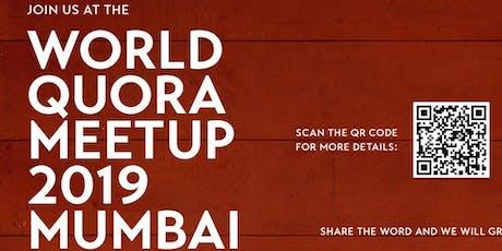 World Quora Meetup 2019 Mumbai tickets