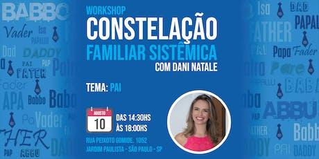 Workshop de Constelação Familiar Tema: Pai tickets